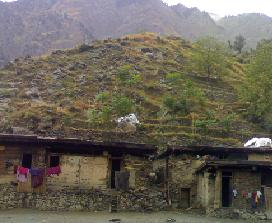A typical house of Shaikhdara